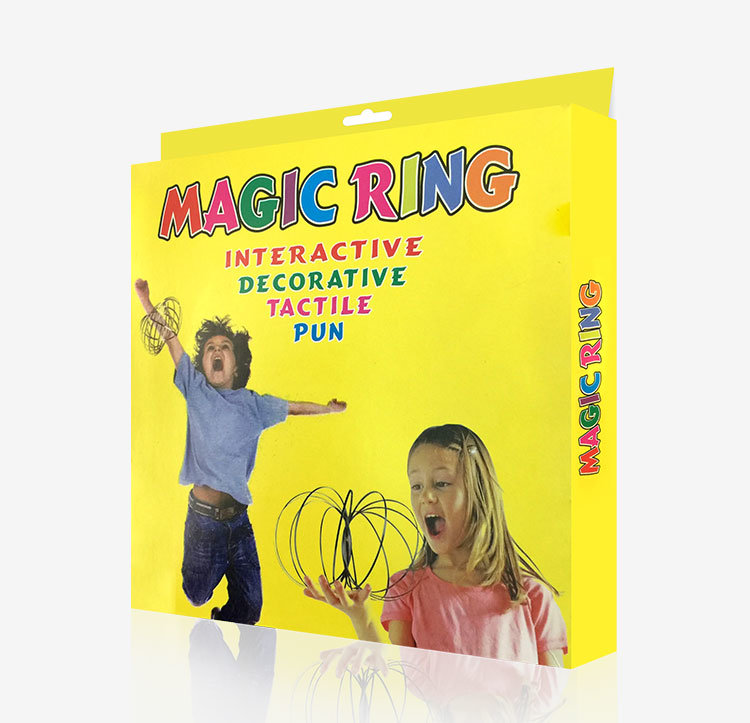Magic Rings Stainless Steel Novelty Toy for Adults Kids