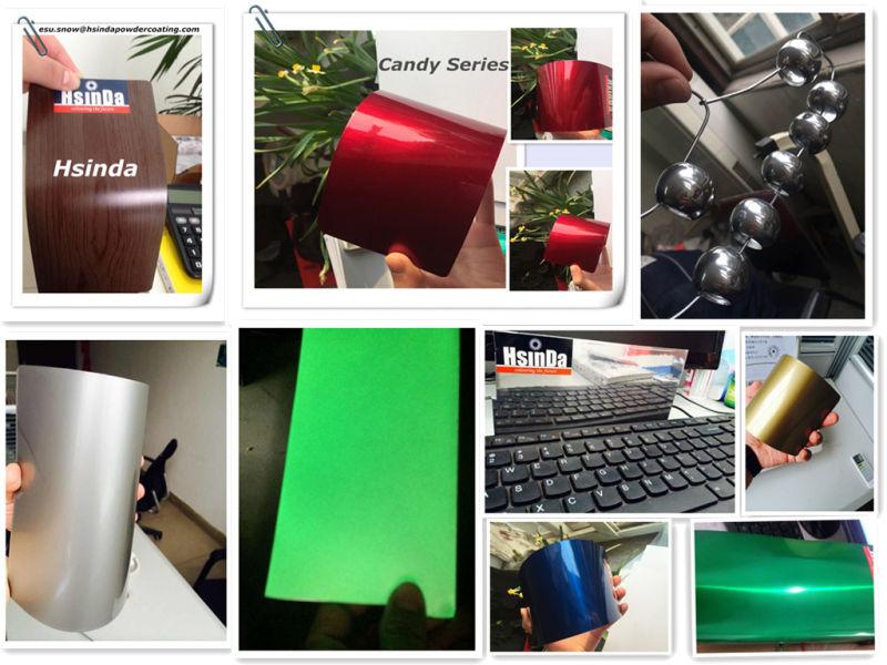 Free Sample Electrostatic Spray Epoxy Resin Names Paints Powder Coating
