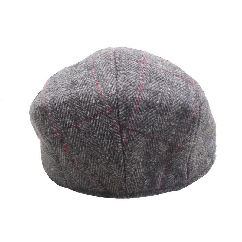 Kids Children Boys Girls Unisex Woolen Classic Winter Autumn Newsboy Driving Tweed Hat Cap (HW816)