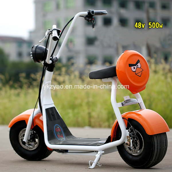 800W Mini Harley Electric Scooter with Big Tyre Ce Approval