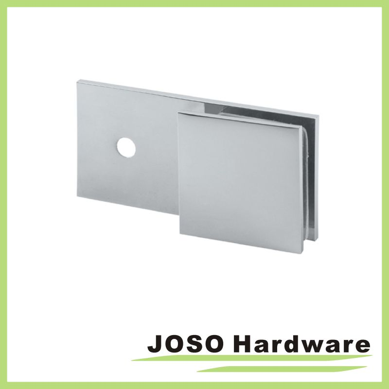 Wall to Glass 180 Degree Rectagular Glass Holding Bracket (BC201-180)