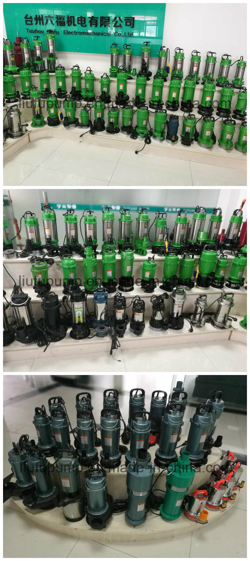 2 Inch 3 Inch Diameter Water Submersible Deep Well Pumps with Stainless Steel Cutter