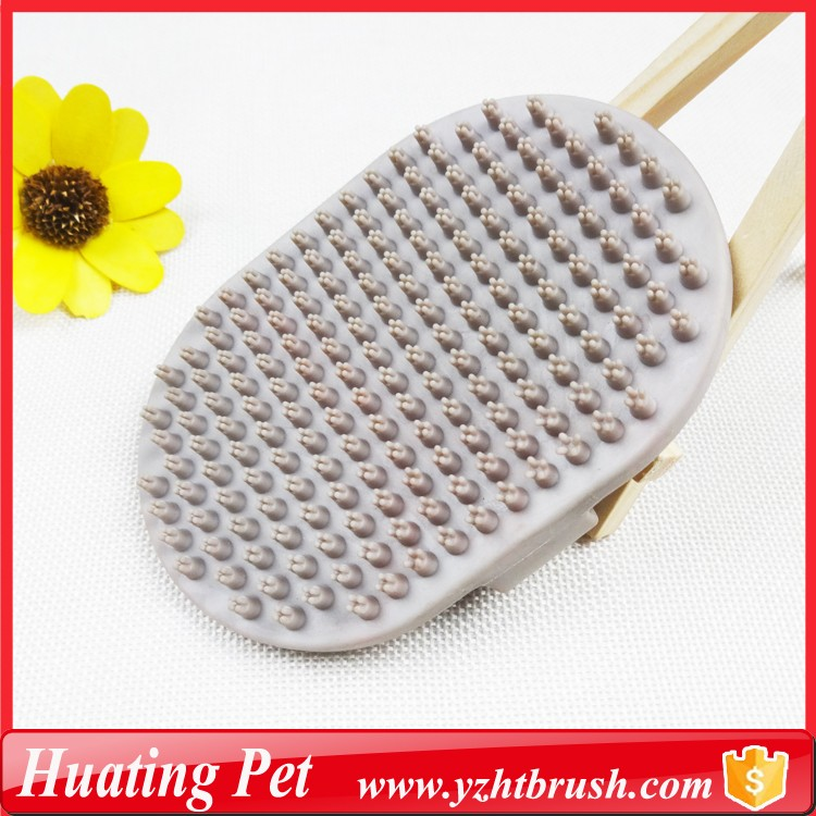 pet rubber brush products