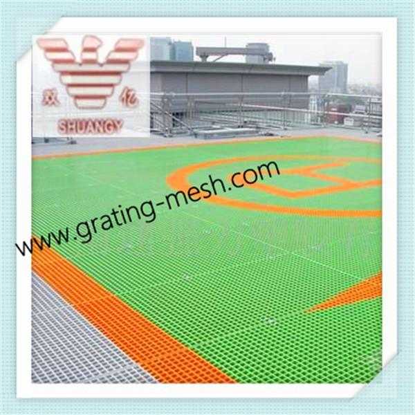 Square Mesh/GRP Grating