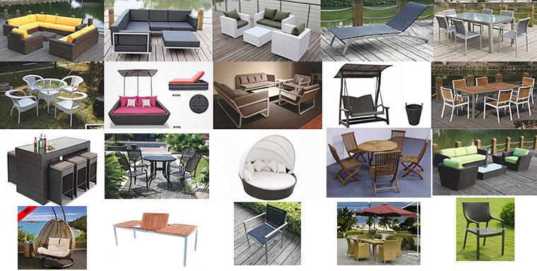 Casual Selectional Metal Sofa Set Aluminum Outdoor Garden Furniture
