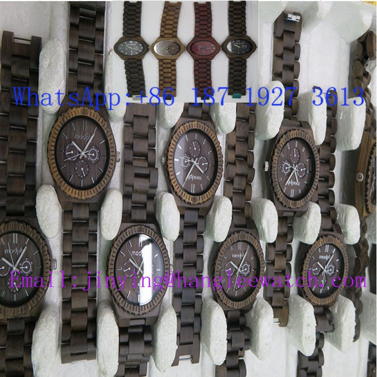OEM Multifunctional Wooden Watch High-Grade Wood Table