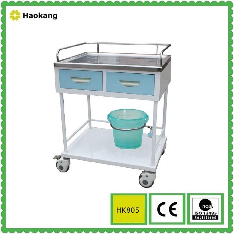 Hospital Furniture for Medical Treatment Trolley (HK805A)