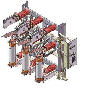 Load Break Switch with Earthing Knife-Fn7-12r (T) D/125-31.5