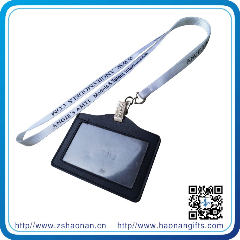 Safety Belt Neck ID Card Holder Lanyard