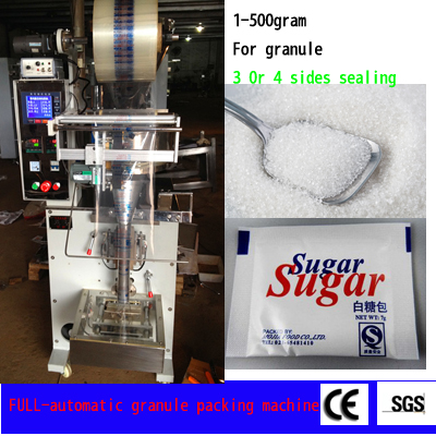 Vertical Packing Machine for Snack Food Nuts Spices Sugar (Ah-Klj100)