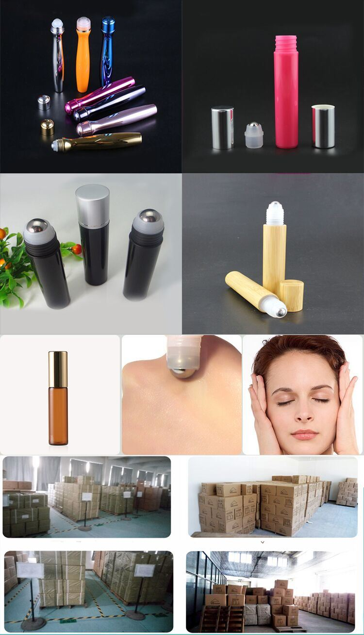 Packaging Specialized Plastic Bamboo Roll on Bottle 15ml. 20ml (NRB16)
