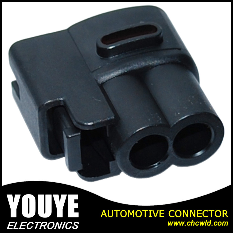 640605-5 PA66 Ket 2 Pin Wire Harness Female Waterproof Auto Connector
