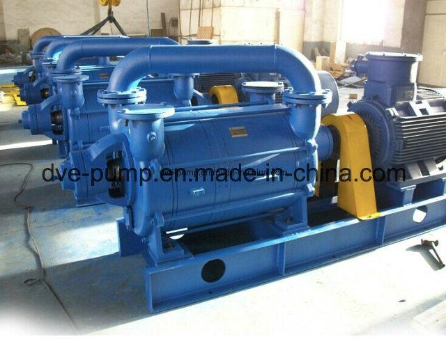 Blue Painted Single Stage Water Ring Vacuum Pump