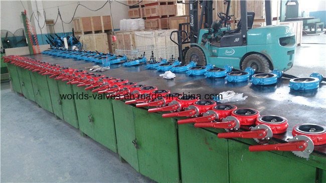 Double Shaft Industrial Valve (WDS)
