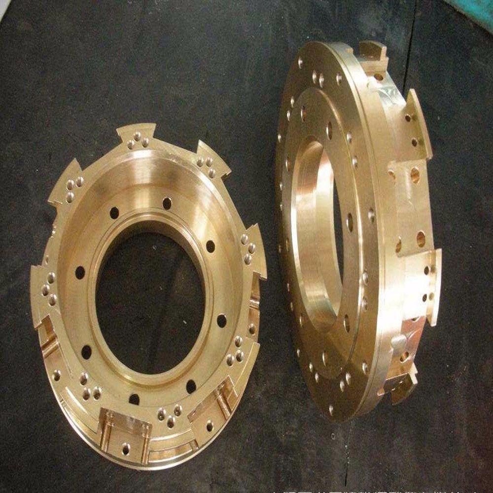 CNC Lathe Machining Turning Copper Brass Parts