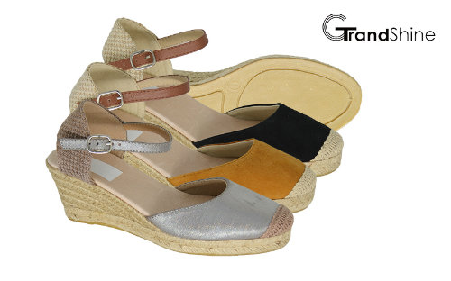 Women's Espadrille Wedge Fashion Sandals