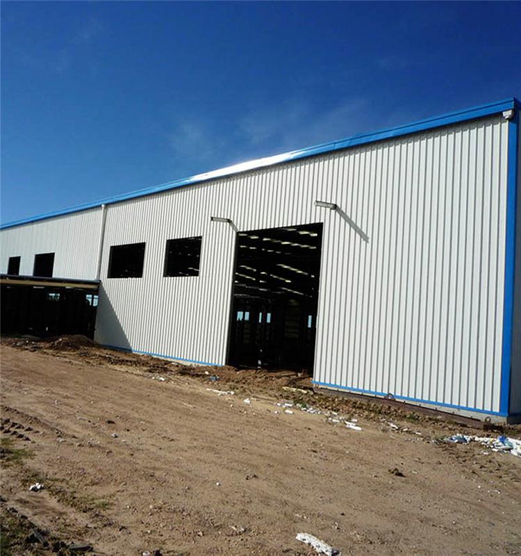 Construction Design Steel Structure Warehouse / Workshop