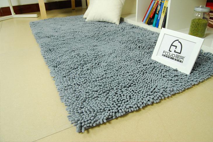 The Carpet with Chenille Mat Mat Door Mat