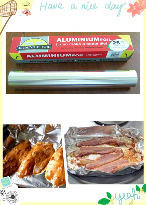 BBQ Food Packing Use Recycle Aluminium Foil