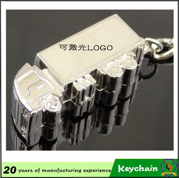 Custom Logo Metal Truck Key Chain for Sale