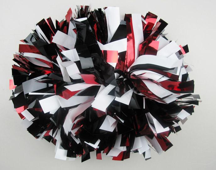 2016 Cheering POM Poms: Metallic 3 Colors