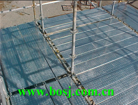 Customized Pre-Galvanized Scaffold Foot Planks Scaffolding System