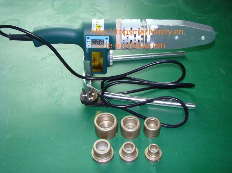 CE Approved Socket Heat Fusion Butt Welding Machine / Welder for PPR Pipe / Tube