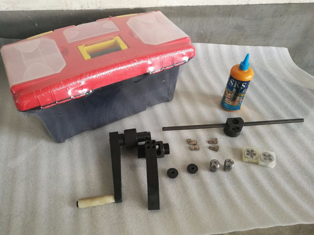 Coning Tool Kit /Threading Kit with Case for 1/4, 3/8, 9/16 High Pressure Tube