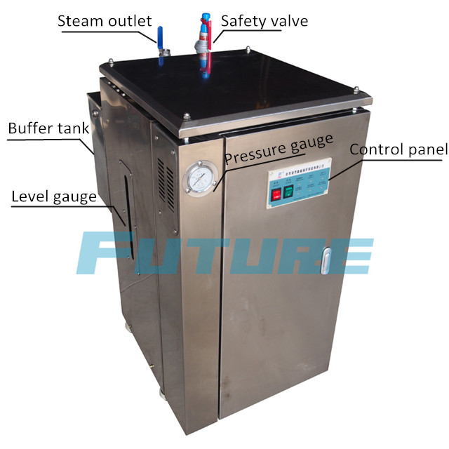 China 42kg/H 30kw Compact Stainless Steel Electric Steam Boiler
