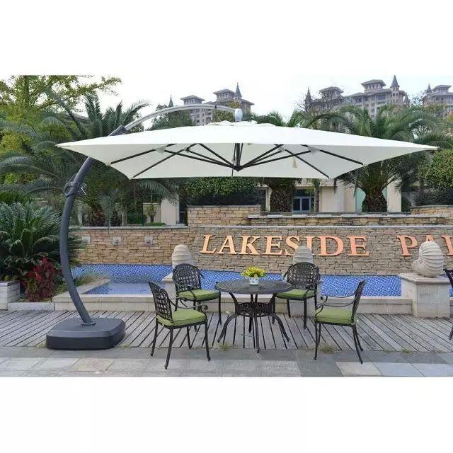 High Grade Hotel Garden Patio Roma Parasol
