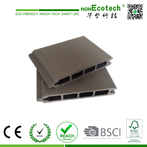 Interlock Deck Wall Cladding WPC Composite Wall Panels