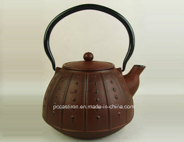 0.9L Cast Iron Teapot Manufacturer From China
