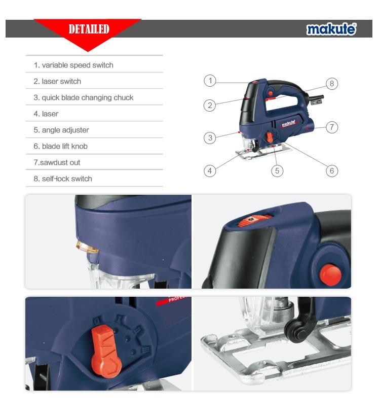 Makute Sawing Machine 710W Multi-Function Jig Saw Machine