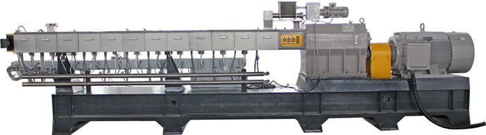 Haisi Extrusion Color Masterbatch Twin Screw Extruder Plastic Machine
