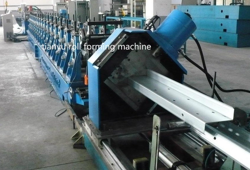 Steel Frame Machinery C and Z Purlin Roll Forming Machine