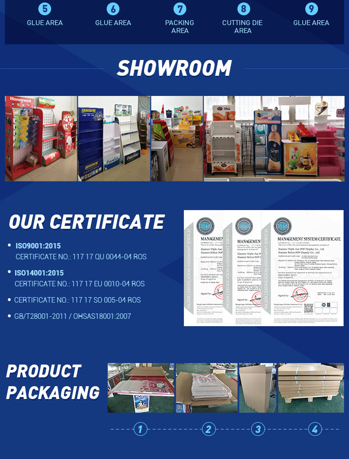 Attractive Trade Show Booth, Cardboard Table for Promotion, Cardboard Floor Display
