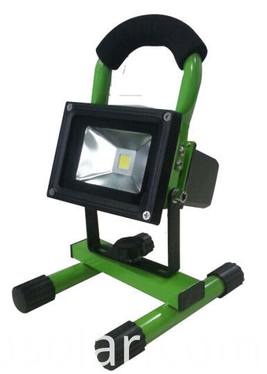 IP65 rechargeable Led Flood Light