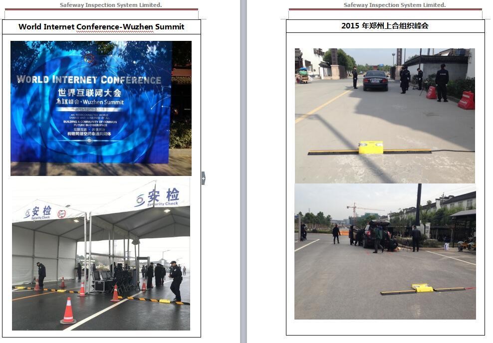 Under Vehicle Surveillance System & Inspection System (UVSS)
