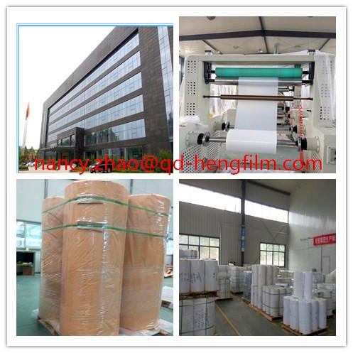 Metallized Vacuum Forming PVC Rigid Film with High Quality