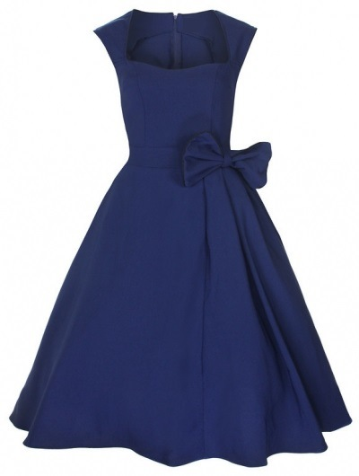 Women's UK Vintage Designer Style Prom Wedding Guests Red Dresses