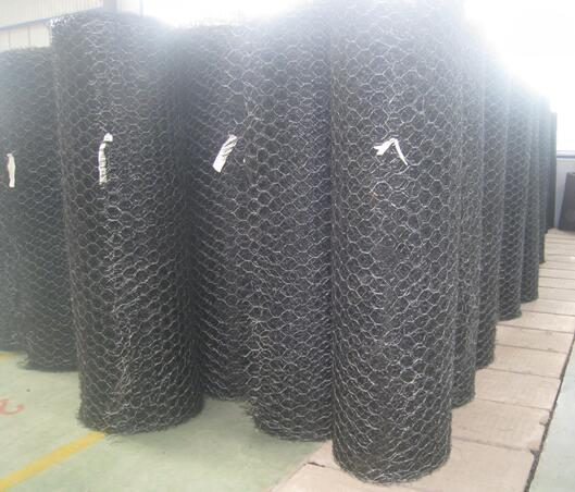 Geomat with Dipped Gavalnized Wire Mesh Reforcement for Protection Slope
