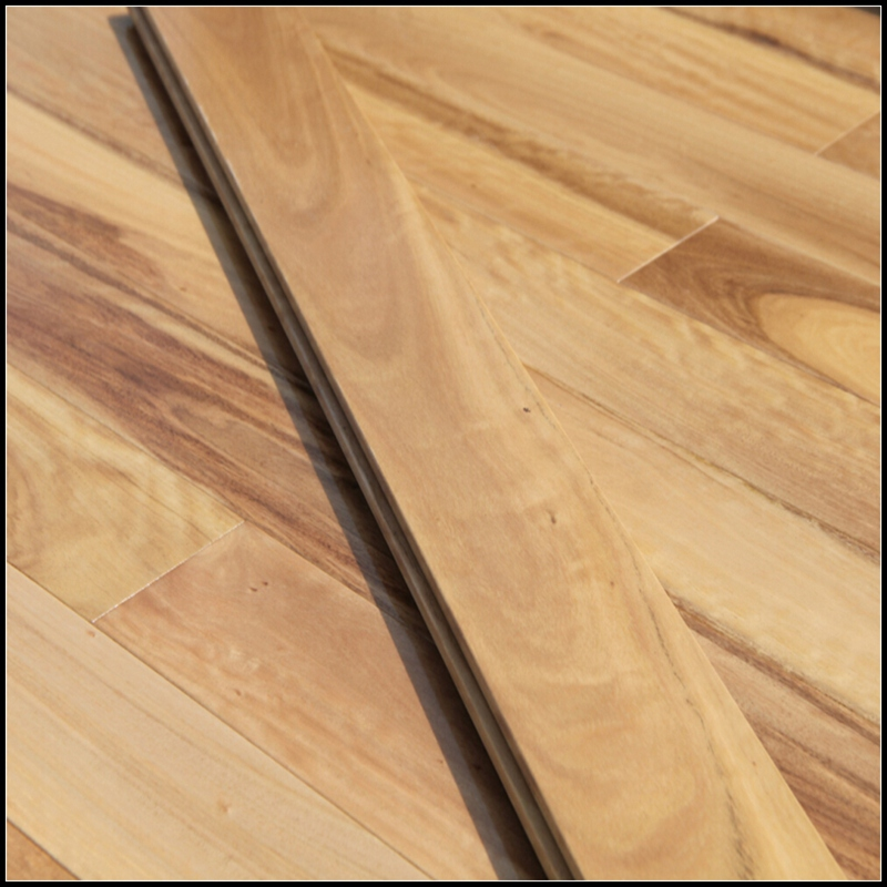 Solid Black Butt Hardwood Flooring
