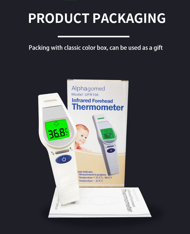 digital thermometer forehead