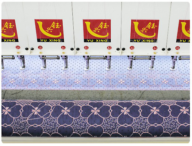 25 Heads Quilting Embroidery Machine Computerized 128 Inches