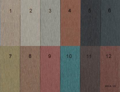 Solid Wood Plastic Composite Decking Floor (M9)