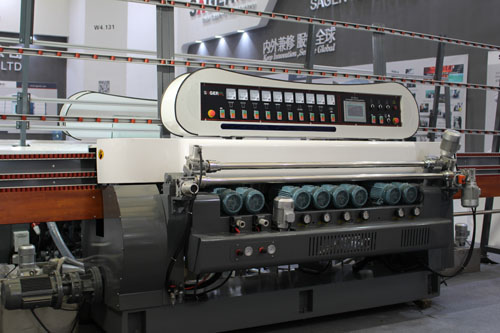 Glass Flat Polishing Beveling Machine