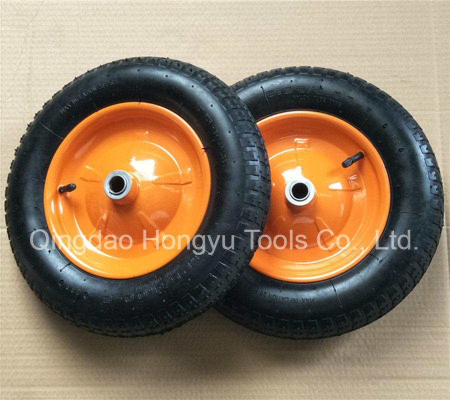 Pneumatic Rubber Wheel Barrow Wheel