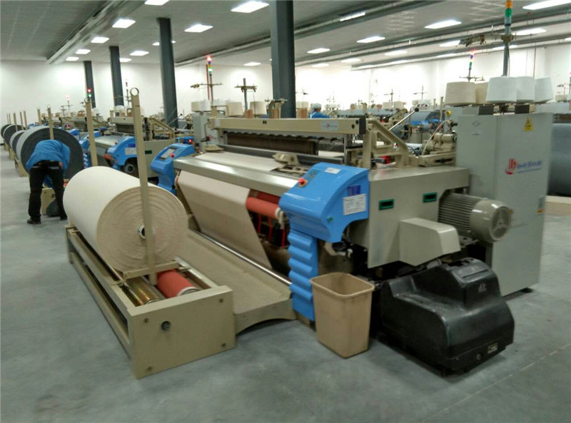 Economic Type Automatic Combed Yarn Weaving Mechanical Tuck-Indevice Air Jet Power Loom
