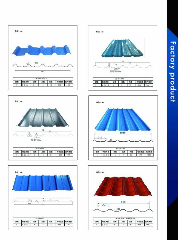 Prepainted Corrugated Aluminum Roofing Sheet