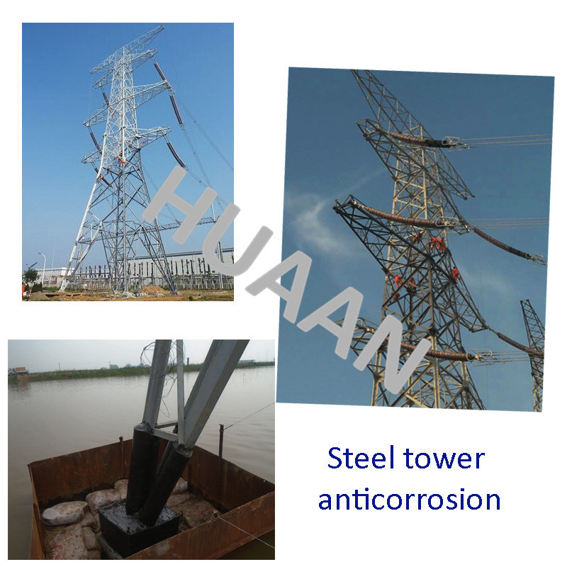 Power Transmission Galvanized Dead End Iron Steel Pipe Mono Pole